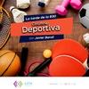 Logo #Columna LU14 Polideportivo con Javier Baroli