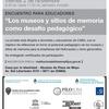 Logo Susana Maresca -  Sitios de Memoria como desafío pedagógico