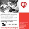 Logo Disparejos, campaña Un pupitre para Fe y Alegría Venezuela