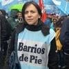"Logo Entrevista a Silvia Saravia Coordinadora Nacional de ""Barrios de Pie"" por la 106.1 FM SECLA!!!"