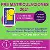 Logo Profesorado en educación secundaria en Lengua y Literatura Anexo Villa El Libertador