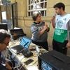 Logo Pablo Vialatte manifestó su apoyo en la puerta de Migraciones a lxs trabajadorxs de Migraciones