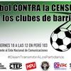 Logo MOVILIZACIÓN A LAS PUERTAS DEL ENACOM EN RECLAMOS POR LA CENSURA A LOS CLUBES DE BARRIO