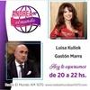 """Logo Luisa Kuliok con """"Andrea por el mundo"""" AM 1070"""