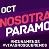 Logo ·#NosotrasParamos - @vaninaescales en @elrelojdigital