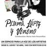 Logo Pluma, Lapiz y Veneno 21/11/19