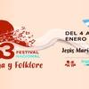 Logo  César Seculini sobre la 53º edición del #Festival de Doma y Folklore de #JesúsMaría