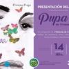 Logo Viviana Fraga. Presentación del Libro Pupa en el MEC paso por Radio a