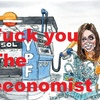 "Logo Revista The Economist, ""solo en la cima"": el marketing de la elite financiera - Vayan a laburar"