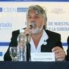 """Logo Daniel Moreira hablando sobre el """"Encuentro de la Producciòn y el Trabajo"""" en radio Gûemes"""