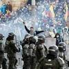 Logo Colombia | Violentísima represión del gobierno de Iván Duque al pueblo colombiano