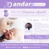 Logo Anuncio charla Salud Materno Infantil (ANDAR) #DetrásDeLasNoticias - Somos Radio AM530