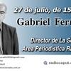 """Logo Entrevista Gabriel Fernández. """"Estamos ante uno de los períodos de mayor distorsión informativa"""""""