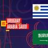 Logo M.Kesman,Uruguay vs Arabia Saudita,31/5/17