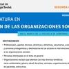 """Logo Mario Siede: """"Las organizaciones sociales juegan un papel silencioso"""""""