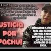 Logo Justicia por Pachu: Marcha a 6 meses de la muerte de Adriel Delgado