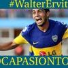 """Logo .@waltervitiok en #BocaPasionTotal  """" Lo que se vive en #Boca es único. Me siento orgulloso de haber"""