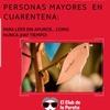 Logo Recomendaciones para el cuidado de #personasmayores - Dr. Carlos Presman