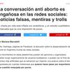 Logo #LaPomada de Lu Banchero sobre aborto en redes sociales (TKM, Mariana Marcaletti)