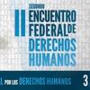 Logo #PMET | II Encuentro Federal de Derechos Humanos