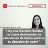 "Logo #BoliviaEnCrisis | Adriana Salvatierra: ""En Bolivia se inició un Golpe de Estado"""