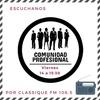 Logo Comunidad Profesional: profesional destacada, y mucha información en el cierre del programa