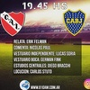 Logo Comentario Nicolás Paul Independiente vs. Boca FECHA 23 SUPERLIGA