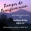 Logo PROGRAMA 87, LA HORA DE LAS DIOSAS: TIEMPOS DE TRANSFORMACIÓN