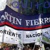 Logo Entrevista a Henry Guanca Referente de la Corriente Nacional Martín Fierro