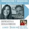 Logo Mujeres emprendedoras: entrevista a Cecilia Ribecco Responsable de diversidad de ASEA