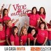 """Logo """"La Casa Invita"""" Remeras Rosas de La Plata #Cáncer de Mama"""
