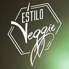 """Logo """"Estilo Veggie"""" algo más que un restó vegano. Lucas Marion su fundador en @vueltaonlineOk"""