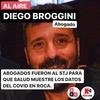 Logo Diego Broggini - Abogados se presentaron ante el STJ para esclarecer datos del Coronavirus en Roca