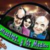 Logo Nosotros y los Medios con la visita del periodista Aram Aharonián
