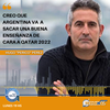 """Logo Hugo """"Perico"""" Pérez: """"Creo que argentina va a sacar una buena enseñanza de cara a Qatar 2022"""""""