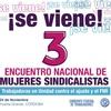 Logo Ana Cubilla (SUOR) y Debora Spinola (Asoc. Bancaria) sobre el 3er Encuentro de Mujeres Sindicalistas