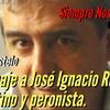 """Logo Jorge Castelo: """"Rucci es lealtad""""."""