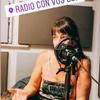 """Logo Elisa Carricajo en """"Solo x gusto"""", radio Con Vos"""