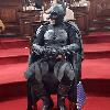 """Logo """"Quisieron colgarse de la capa de Batman"""", contó el Batman solidario de La Plata"""