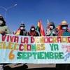 Logo Bolivia amanece con bloqueos y un paro general contra la postergación de las elecciones.