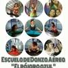 """Logo  Alumnas de la Escuela de Danza Aérea """" El pájaro azul """" viajan a Carlos Paz"""