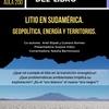 Logo Se presentará en Comodoro un libro sobre la extracción de litio en Sudamérica