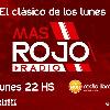 Logo #MasRojoRadio - Lunes 05.04.2021