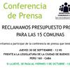 """Logo Entrevista: Silvia Cornejo y Osvaldo Cordo - """"Presupuesto propio para las Comunas"""""""