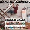 """Logo Leandro Díaz Romero presenta """"Canto al viento"""" en La Marca de la Almohada"""