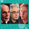 logo #TrotskyVersusNetflix  el debate con Eduardo Grüner, Alejandro Horowicz y Christian Castillo
