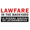 "Logo Documental ""La Guerra Judicial en Latinoamérica - Lawfare in the Backyard"""