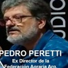 Logo Pedro Peretti en Dejamelo Pensar, Con Sandra Russo y Jorge Elbaum
