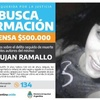 Logo Búsqueda de datos sobre el femicidio de Johana Ramallo