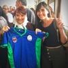 Logo Las Descamisadas FC, fútbol femenino, feminista, disidente e inclusivo